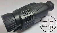 Digital Ir Night Vision 5x40 4xzoom Monocular Hunting Camera Recorder 200m Range