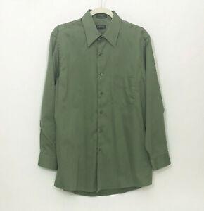 EUC-Arrow-Long-Sleeve-Wrinkle-Free-Sateen-Green-15-5-32-33-Shirt
