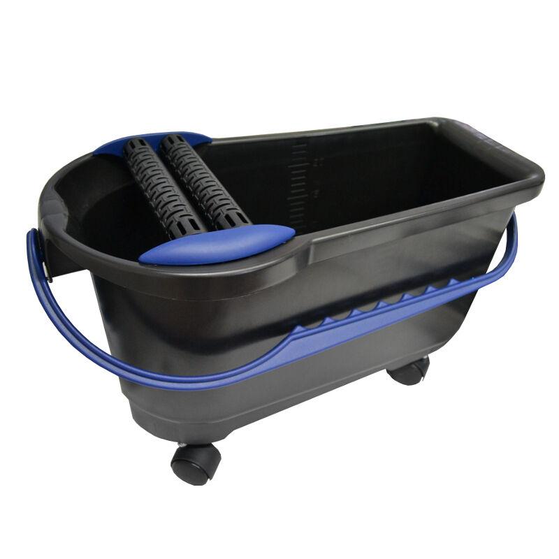 HUFA Waschbox 24 + Profi Doppelrollenaufssatz Doppelrollenaufssatz Doppelrollenaufssatz + Räder Fliesenwaschset Wascheimer | Neues Design  | Qualität Produkte  | Good Design  e7675f