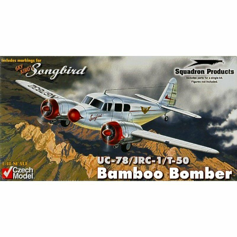 Czech Model 4819 UC78 JRC1 T50 Bobcat Bamboo Bomber 1 48 scale plastic model