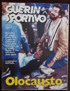 GUERIN-SPORTIVO-N-23-DEL-1985-COPPA-CAMPIONI-JUVENTUS-HEYSEL