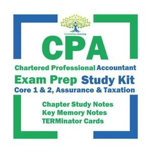 CPA PEP 2020 Chartered Professional Accountant Core 1 & 2, Assurance & Taxation Exam Prep Kit Toronto (GTA) Preview