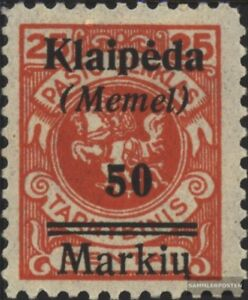 Memelgebiet-131-gestempelt-1922-Klaipeda