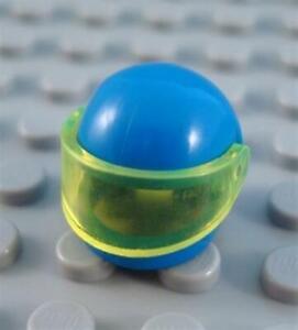 Minifigure Racer Driver Space City LEGO 20x Trans Neon Green Helmet Visors