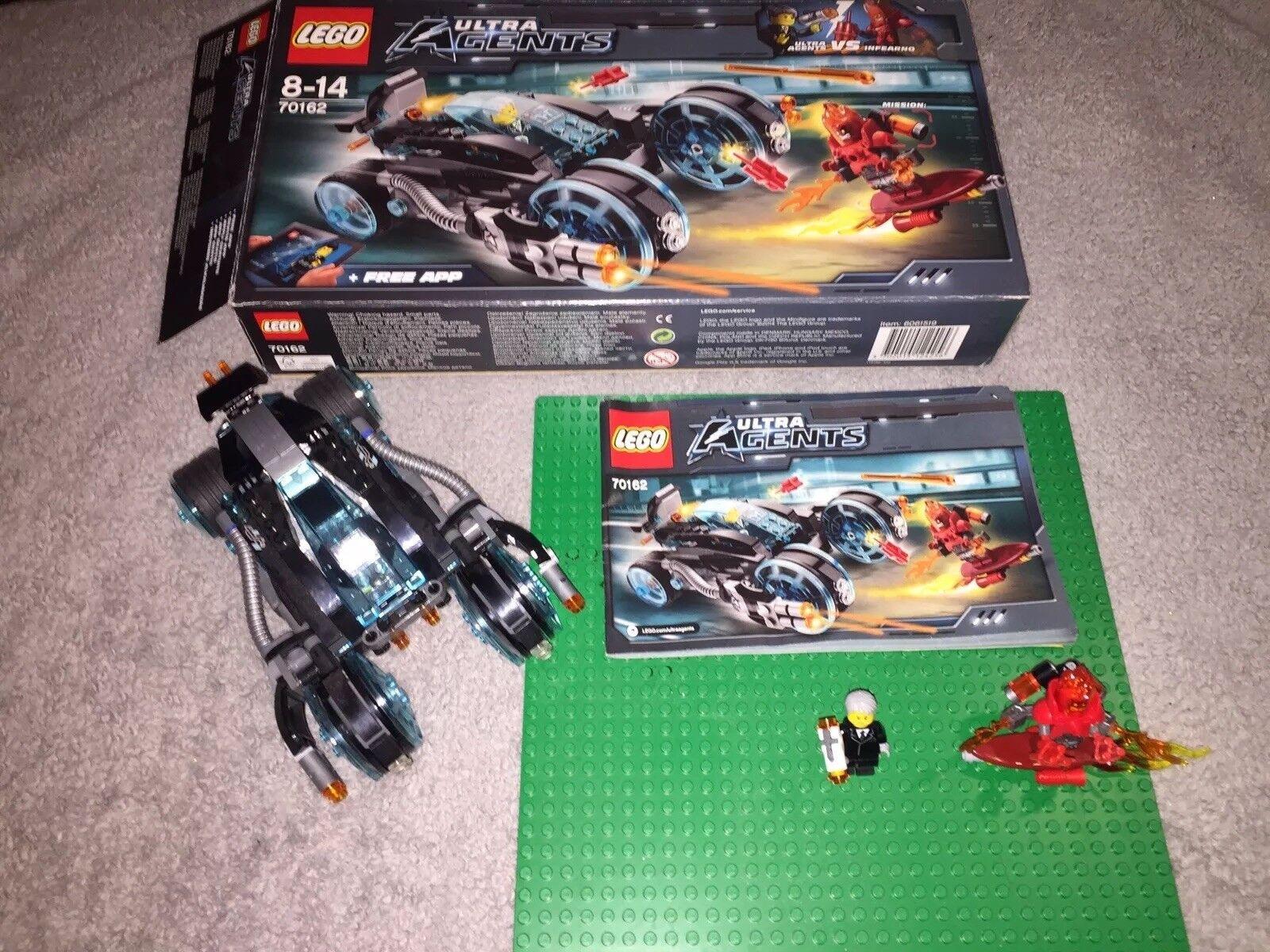 LEGO 70162 ULTRA AGENTS INFERNO INTERCEPTION