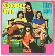 """SHOCKING BLUE.INK POT.GERMAN ORIG 7"""" """"SLEEVE ONLY"""".EX"""