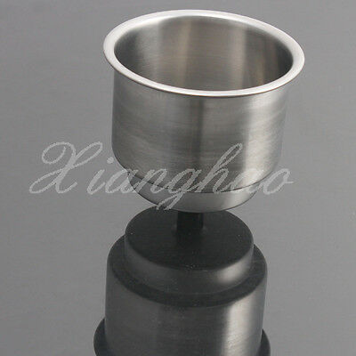 1PCS Stainless Steel Cup Drink Holder Mount For Marine Boat RV Car Truck Camper