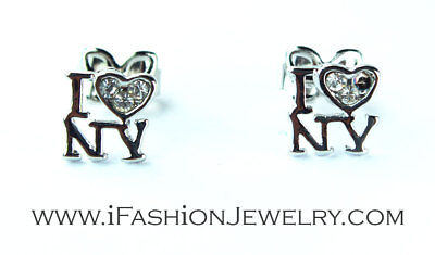VAttract Letter A to Z Initial Letter Alphabet Stud Earrings