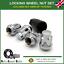 Locking Wheel Nuts 4 2013-16 Key For Hyundai i10 MK2