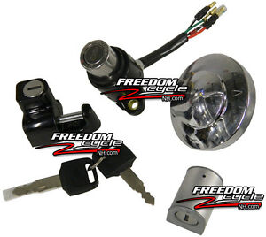 image is loading honda-rebel-250-lock-set-ignition-switch-gas-
