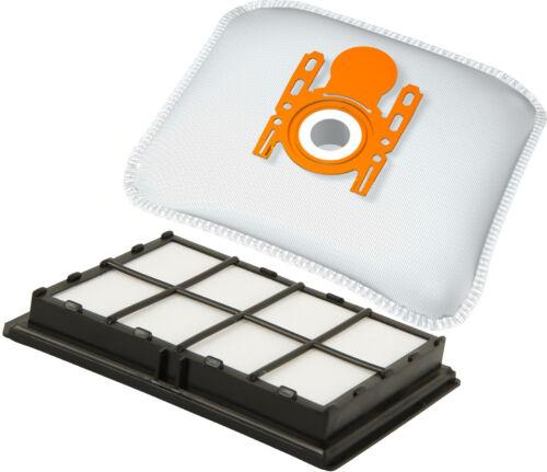 1 Hepa Filter für Siemens VS 63A21//07-10 Super C el 10 Staubsaugerbeutel 630