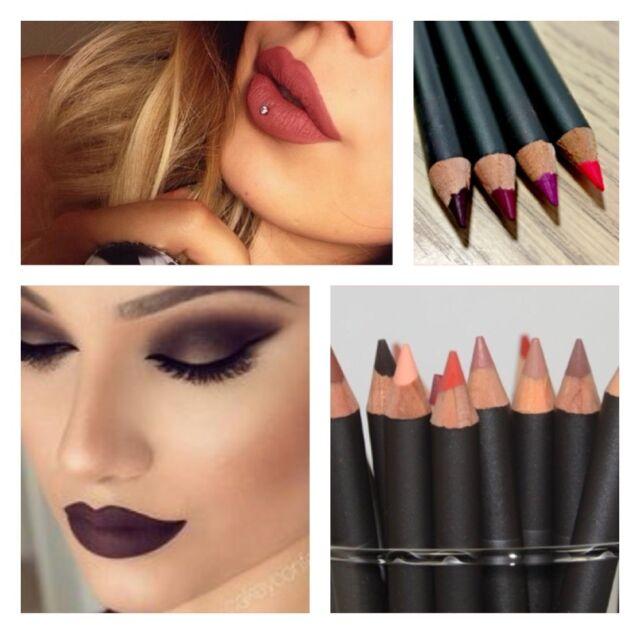 Professional Lip Eye Liner Pencils Waterproof LongLast Aloe Vera Various Colours