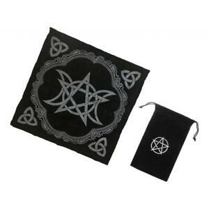 2pcs-Altar-Tarot-Table-Cloth-Moon-49cm-Black-Tarot-Card-Bag-with-Drawstring