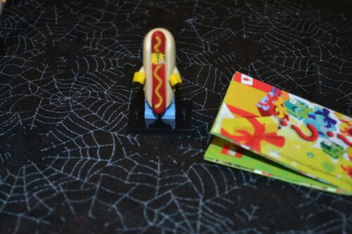 LEGO HOT DOG GUY  # 14  MINIFIGURE SERIES 13