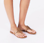 Tory-Burch-NEW-Miller-Sand-Patent-Leather-Flat-Thong-Sandals-SIZES-6-to-10-5 thumbnail 6