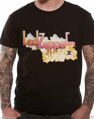 Led Zeppelin T Shirt Classic Rock Album Cover Tour Live Zoso Men Women OFFICIAL