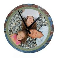 Personalized Wall Clock Kit. We Print What You Want. Free Shipping