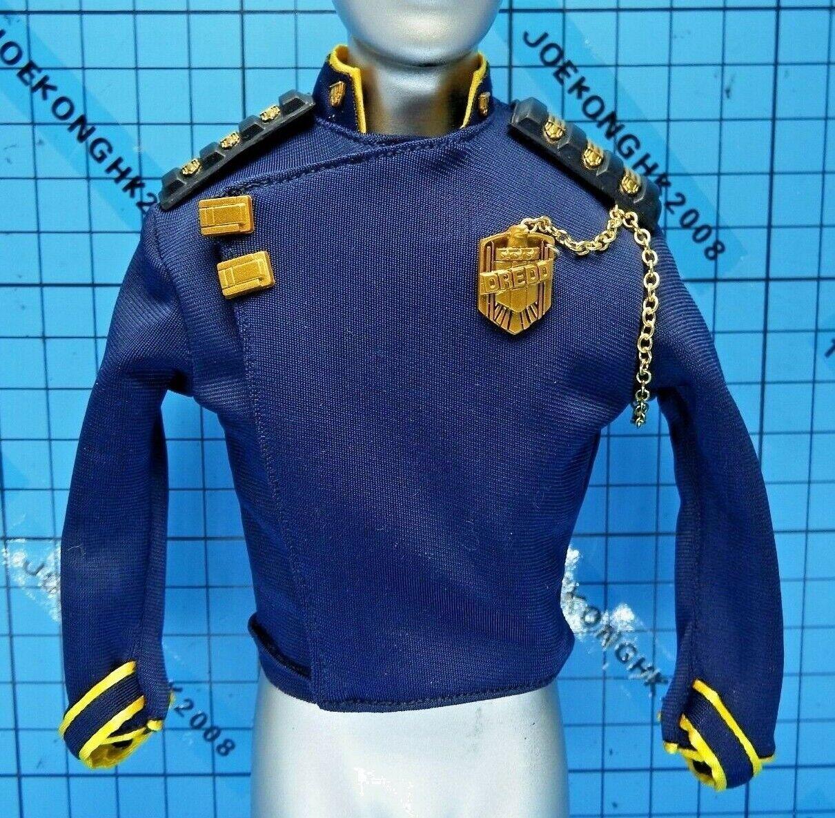 Vts bis 6 vm-023 justiz judge drotd bild - blaue uniform + schulterriemen