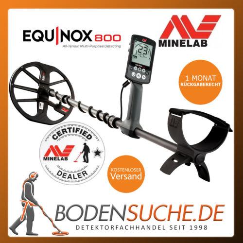/> mercancía nueva del distribuidor Minelab Equinox 800 detector de metales