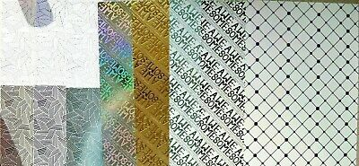 8 x A4 KANBAN Assorted Gold /& Silver Foiled CARD 250gsm in 8 Patterns NEW