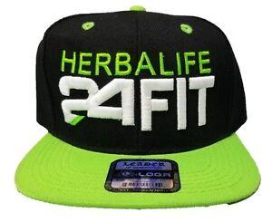 Image is loading Leader-Herbalife-24FIT-Snapback-Hat-Baseball-Cap-Custom- b3f363ab7e81