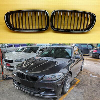 Piano//Gloss Black Kidney Grill BMW F10//F11 520d 535i 535d 528i Sedan Touring