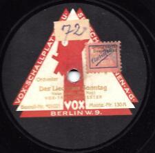 Vox Tanz-Orchester  1926 : Das Lied vom Sonntag + Destiny