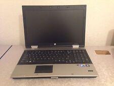 HP EliteBook 8540p Core i7 Laptop 8 GB RAM Webcam No Hard Drive Quick Ship