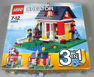 Lego-Creator-31009-mit-OVP-und-Anleitungen-3-in-1-Modelle