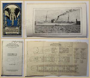 Orig-Prospekt-Woermann-Linie-Ostafrika-Hamburg-Amerika-1927-Reisen-Schifffahrt