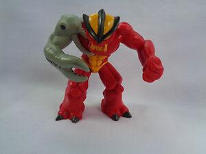 Gormiti-Giochi-Preziosi-PVC-Action-Figure-Red-Yellow-Gray-Claw-Arm-9