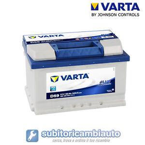 BATTERIA-AUTO-60AH-D59-VARTA-BLUE-DYNAMIC-540A-di-spunto-60AH-RIBASSATA