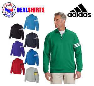 126d667e Details about adidas Golf Men's climalite 3-Stripes Pullover-A190