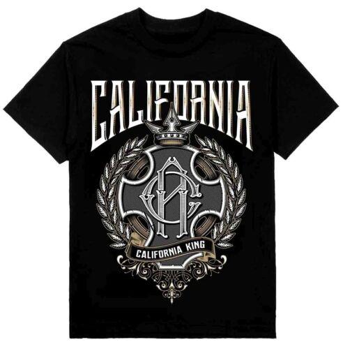 MENS SHOP PRIVATE LABEL California King Mens Heavyweight T-Shirt Printed On Shak