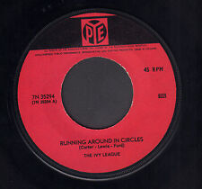 "IVY LEAGUE ‎– Running Around In Circles (RARE 1966 BEAT VINYL SINGLE 7"" HOLLAND)"