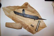 Rare Military Soviet Russian USSR Red Army Steel Burnishing Knife Sapper 1982