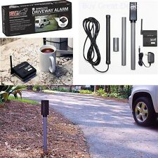Wireless Driveway Alarm Alert System Car Detector Home Security Motion Sensor