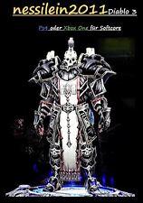 Diablo 3 RoS Ps4/Xbox One - Kreuzritter - Sucher Des Lichts - URALT - Unmodded