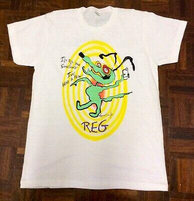 Autentico Vintage Roger Waters I Vantaggi E Svantaggi Dell'autostop Tour T-shirt 1984-mostra Il Titolo Originale Processi Di Tintura Meticolosi
