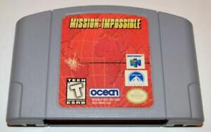 *MISSION: IMPOSSIBLE NINTENDO 64 GAME N64