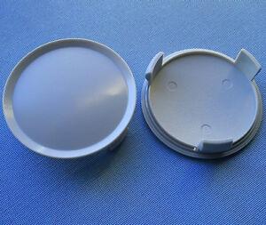 2 x you s tapacubos embellecedores llantas tapa 55,0-50,0 mm-plata-nuevo