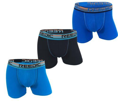 Soft Comfort Pantaloncini Boxer Da Uomo 3 Pack UK Taglia S-2XL Classic Fit Biancheria Intima