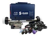 Gecko - S-class Spa Control Bundle, K-18 Topside & Cords - 0202-205162 & Tsc-18
