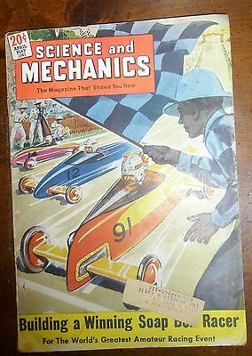 SCIENCE AND MECHANICS Magazine April-May 1947 Soap Box Racer