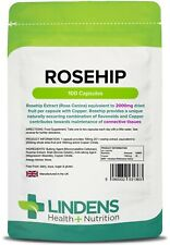 ROSEHIP SUPPLEMENT (ROSA CANINA) 2000-MG (CAPSULES 100 PACK) 100% PURE