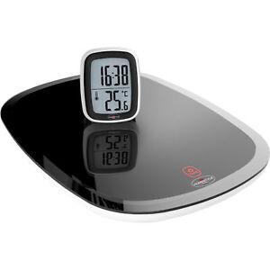 Homestyle Kuchenwaage Uhr Thermometer London Waage Digitalwaage