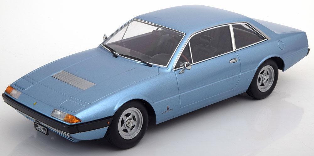 despacho de tienda KK SCALE MODELS 1972 Ferrari Ferrari Ferrari 365 GT4 2+2 Azul Edición Limitada de 1000 piezas 1 18New   producto de calidad