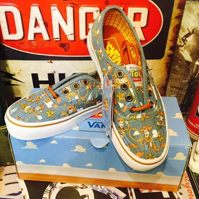 VANS Toy Story collaboration shoes Woody shoes from japan (254