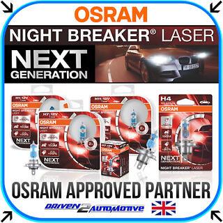 150 Twin Pack Car Halogen Headlight Bulbs Osram H11 Night Breaker Laser 711
