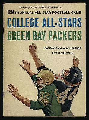 1962 1966 & 1967 GREEN BAY PACKERS VS COLLEGE ALL-STARS FOOTBALL PROGRAMS (3)